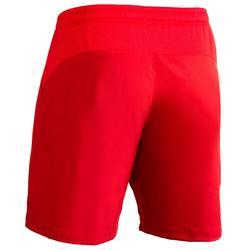 Hockeyshort voor heren Henry rood