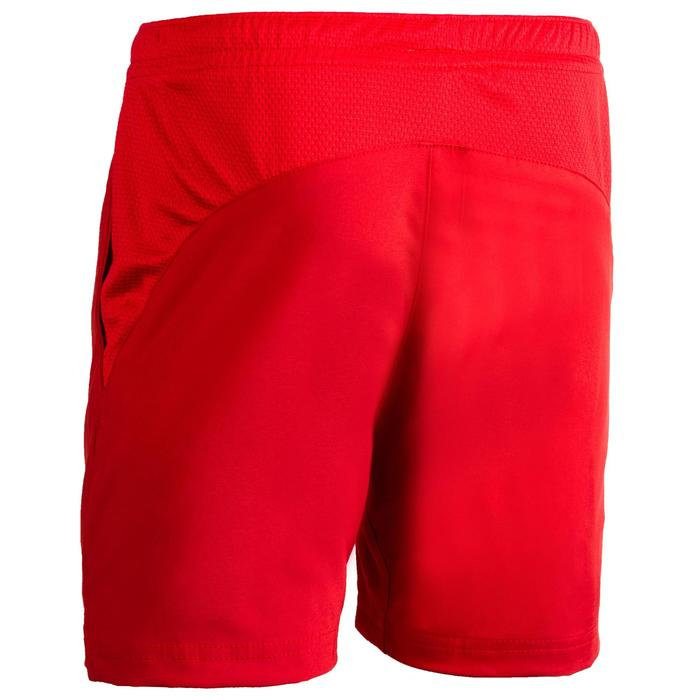 Hockeyshort voor jongens Henry rood
