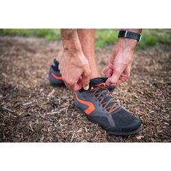 Zapatillas De Atletismo Kalenji Negro Naranja Clavos Para Cross
