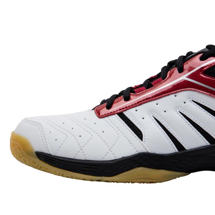 Chaussures De Badminton pour Homme BS560 Lite - Blanc/Rouge