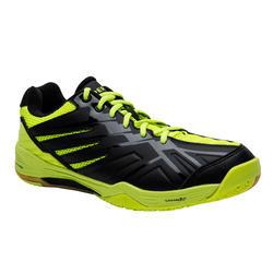 BS 590 Max Comfort Badminton Shoes - Black/Yellow