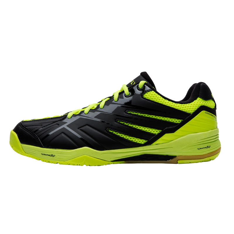 MEN BADMINTON SHOES MAX COMFORT BS 590 DARK GREEN