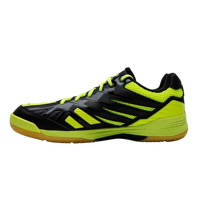 Zapatillas de bádminton ARTENGO BS 590 Max Confort Hombre negro y amarillo