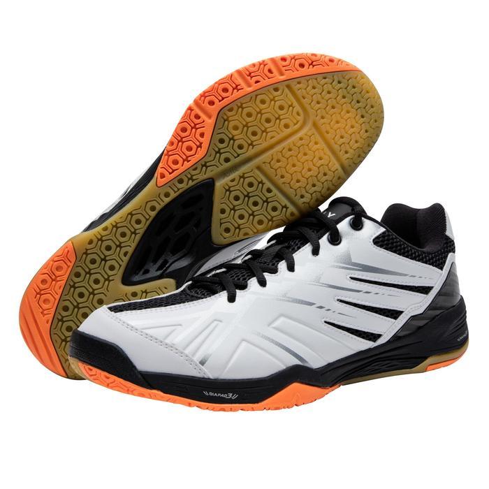 男款極致舒適羽球鞋BS 590-白色