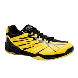 MEN BADMINTON SHOES MAX COMFORT BS 590 YELLOW