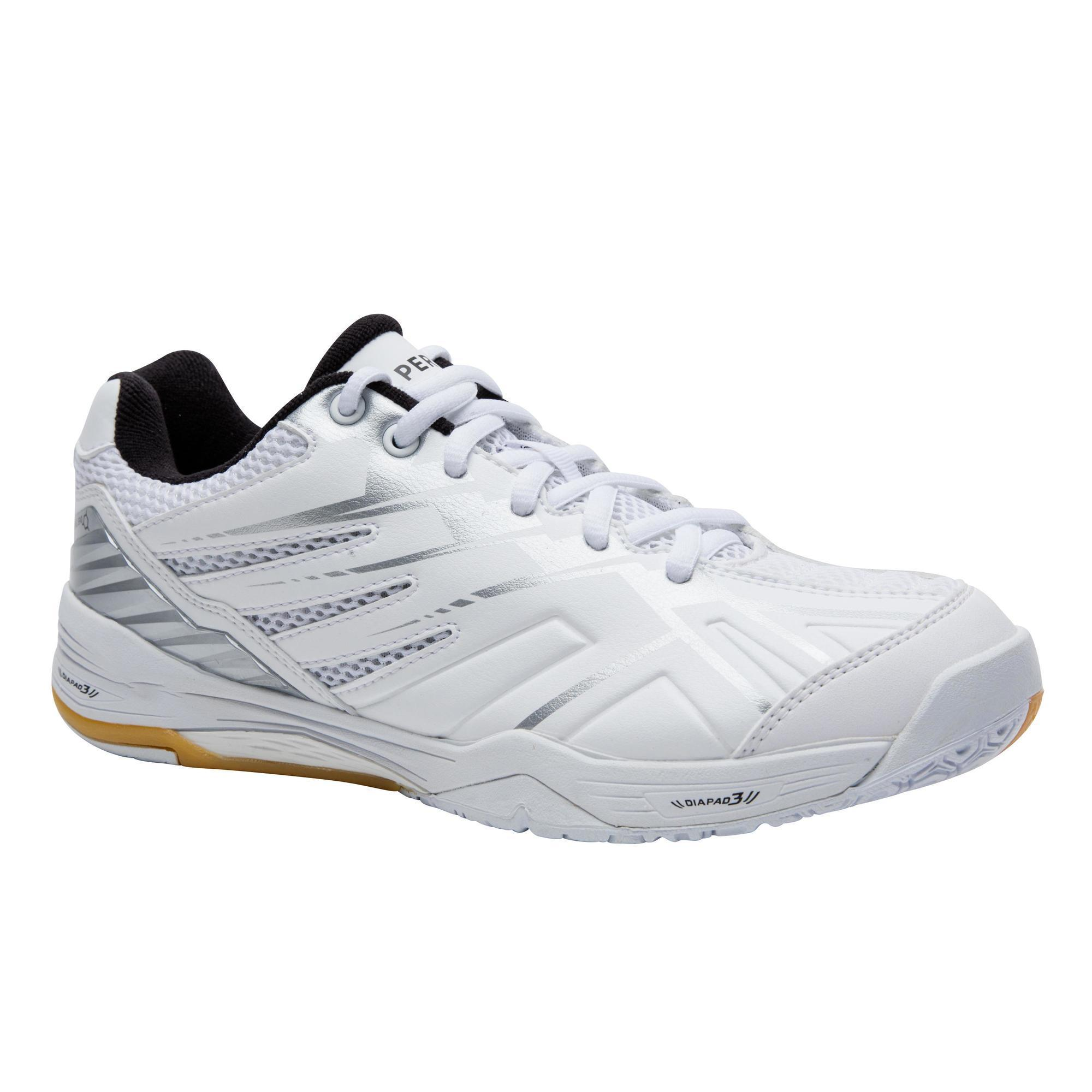 Perfly Badmintonschoenen voor dames BS 590 Max Comfort wit