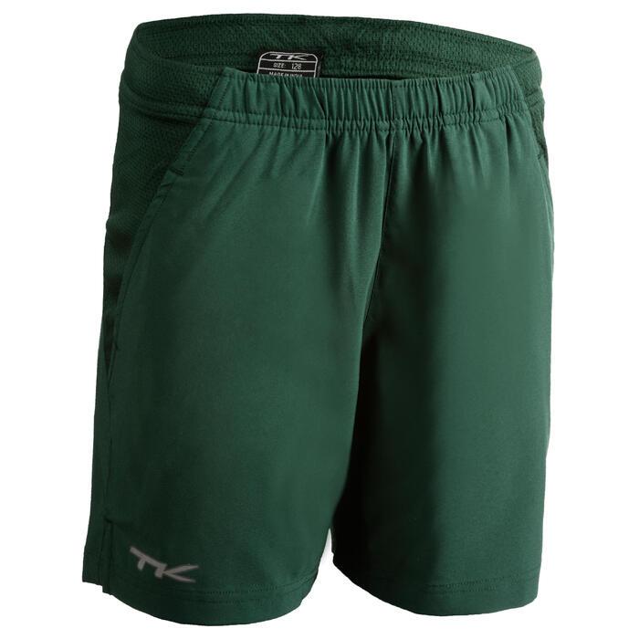 Hockeyshort voor jongens Henry groen