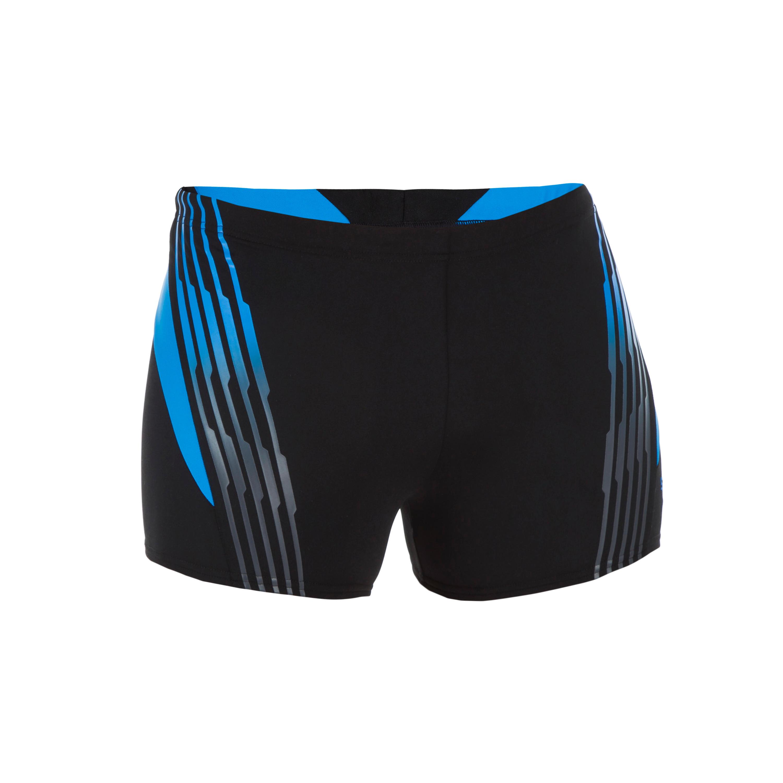 Boxer-Badehose Oxid Herren schwarz/blau | Bekleidung > Bademode > Boxerbadehosen | Speedo