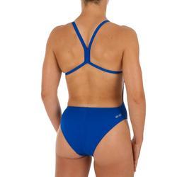 Bañador Natación Piscina Arena Solid Mujer Espalda X Competición Azul Intenso