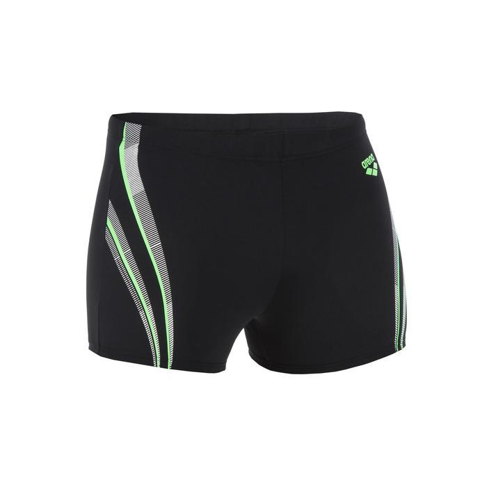 Zwemboxer voor heren Spaced zwart/groen
