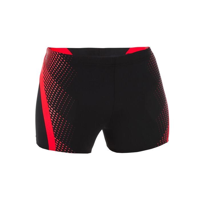 Zwemboxer heren Lava zwart/rood
