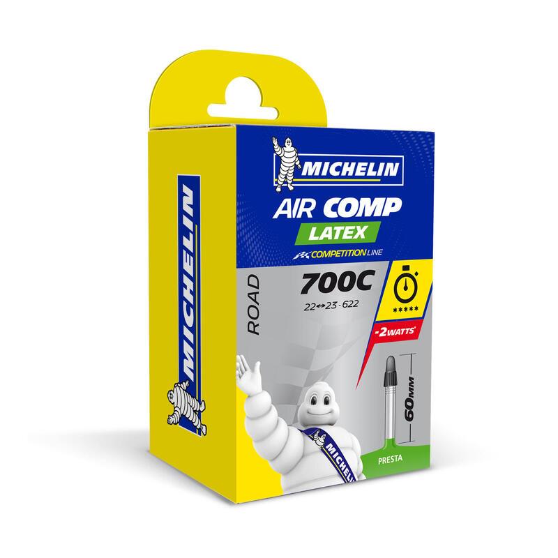 CHAMBRE A AIR LATEX 700x22/23 VALVE PRESTA 60MM