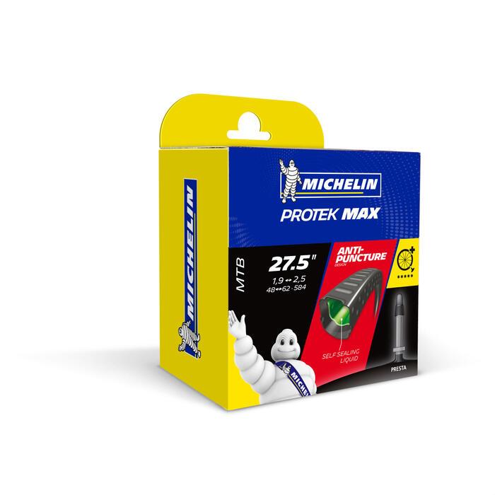 Fahrradschlauch MTB Protek Max 27,5×1,9/2,6 Presta-Ventil