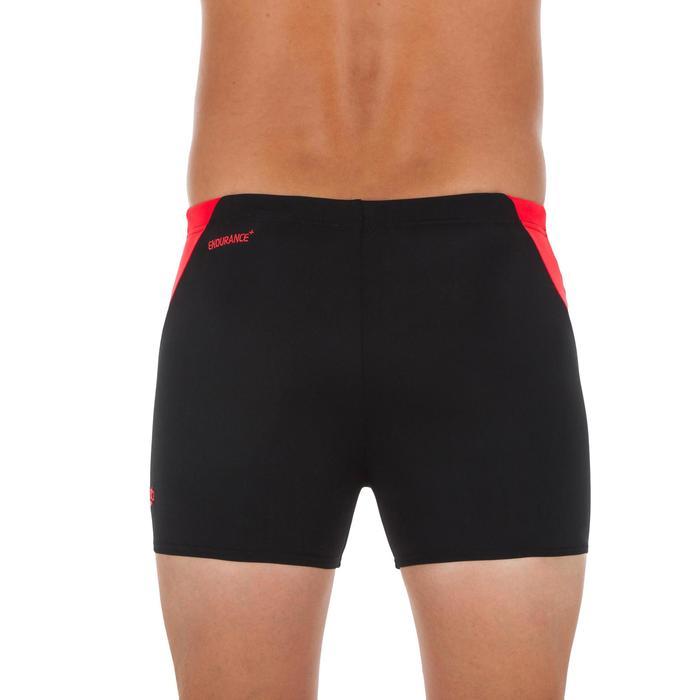 Zwemboxer voor heren Lava zwart/rood