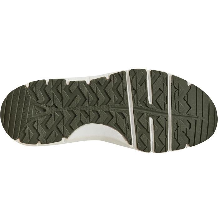Zapatillas de marcha deportiva para mujer HW 500 Mesh caquis