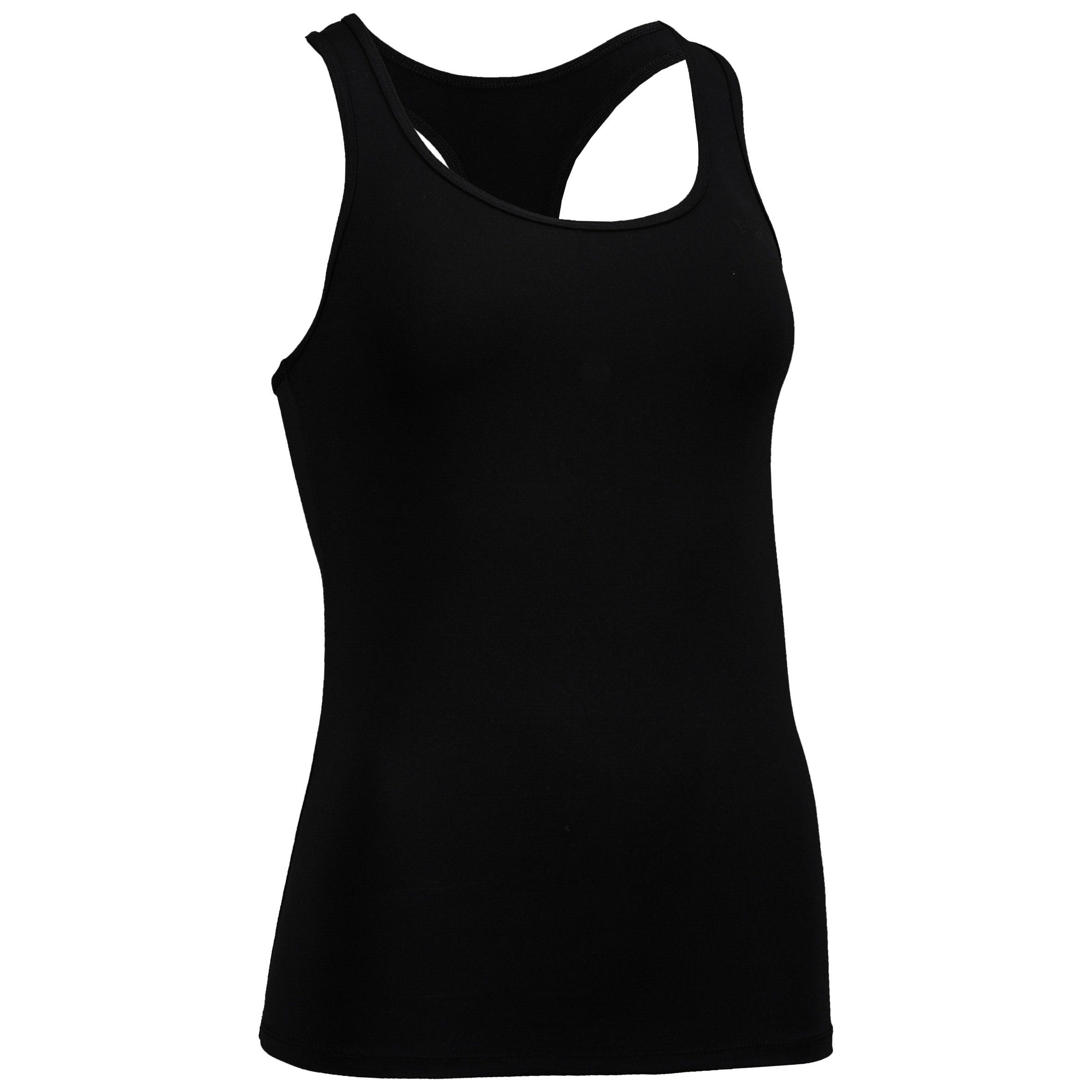 100 My Top Women's Cardio Fitness Tank Top - Black