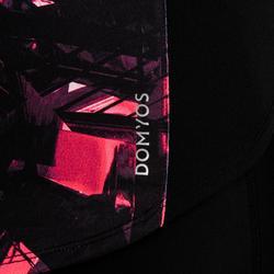 Cardiofitness T-shirt 500 voor dames zwart print