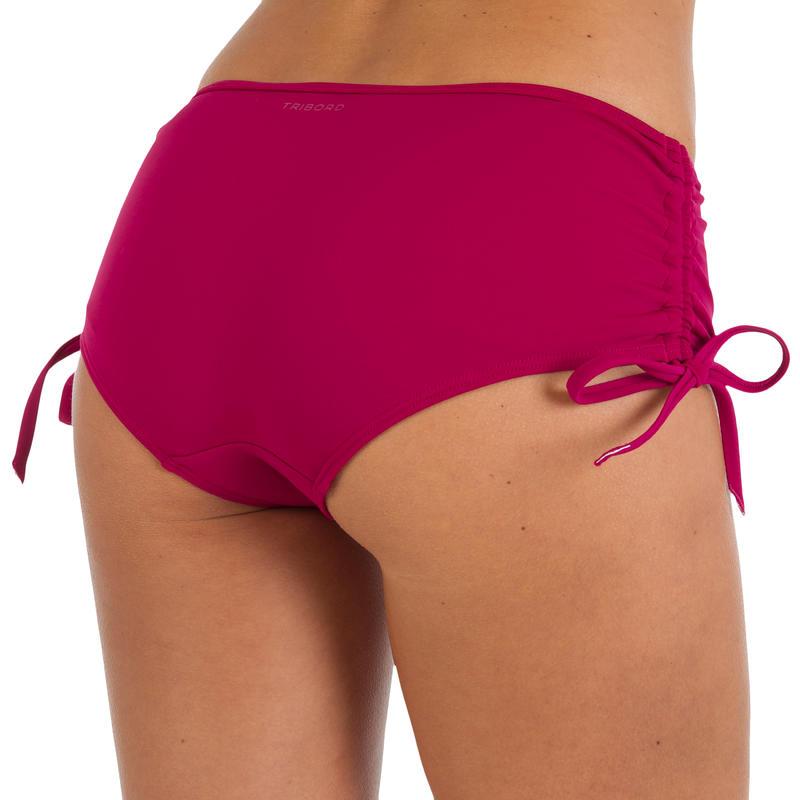 Maillot de bain femme culotte shorty Nahia prune personnalisable