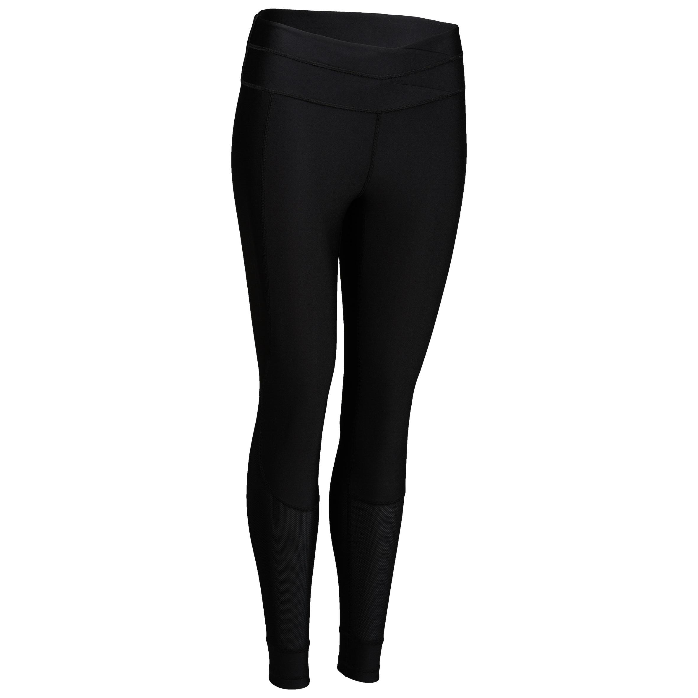 Leggings cardio fitness mujer negro 520