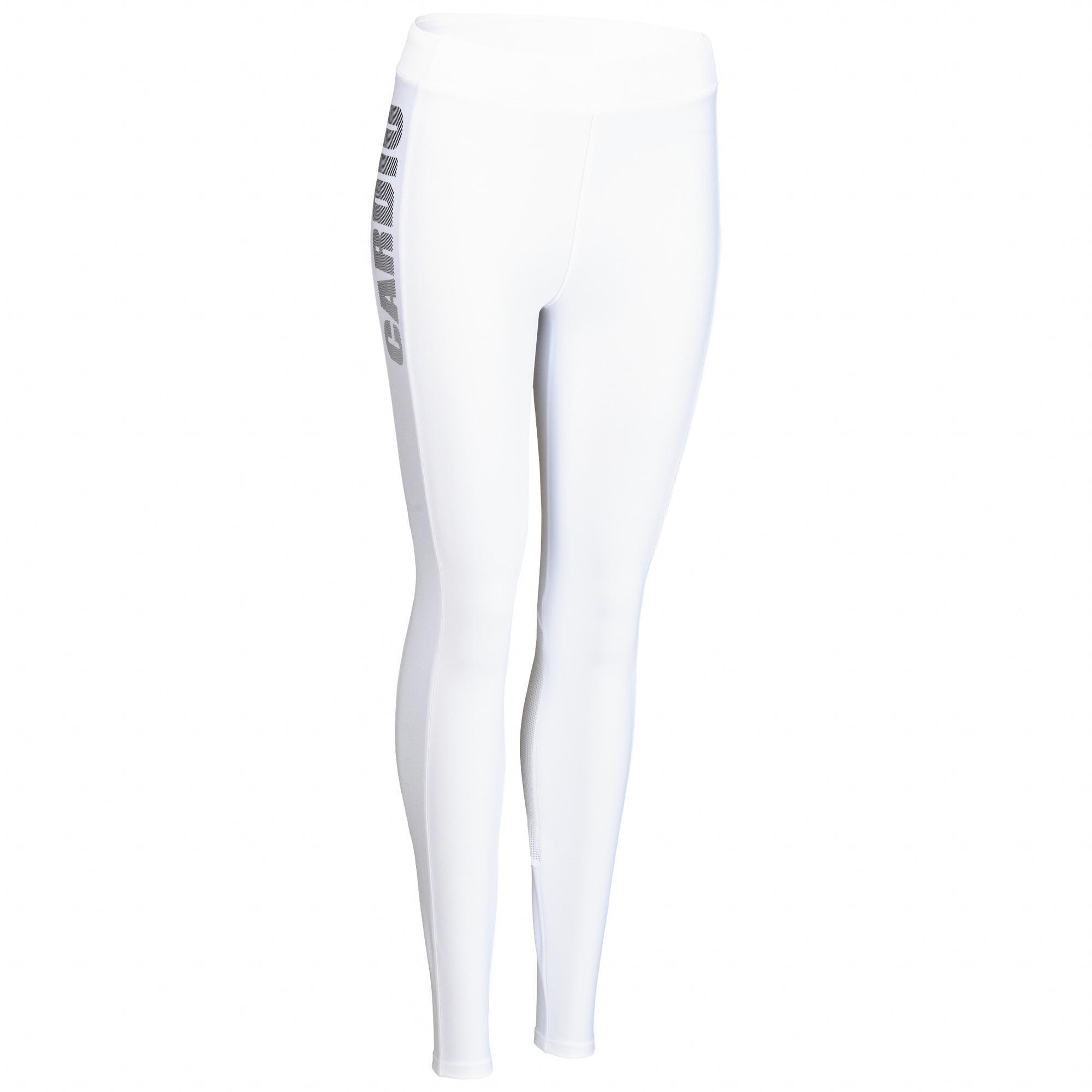 Domyos Fitness legging 120 voor dames, wit