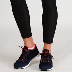 Fitness legging 520 voor dames, zwart