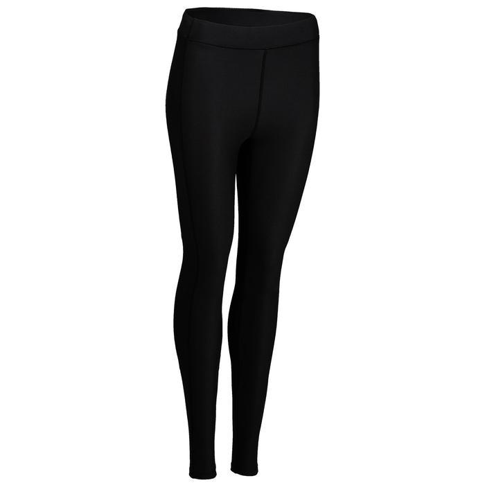 Mallas Leggings Deportivos Cardio Fitness Domyos 120 mujer negro