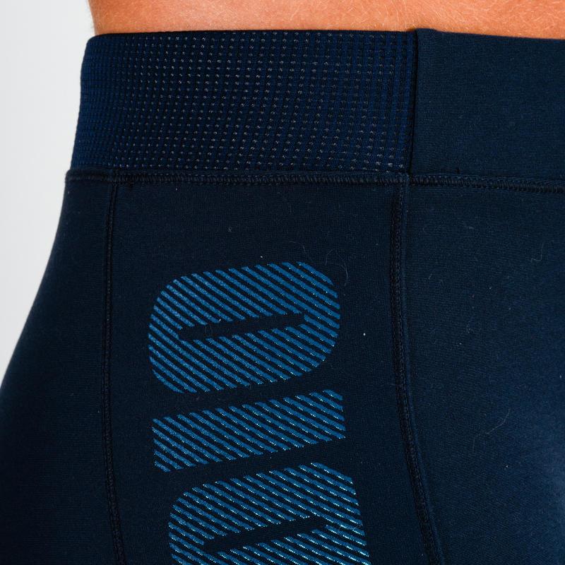 120 Women's Cardio Fitness Leggings - Navy Blue