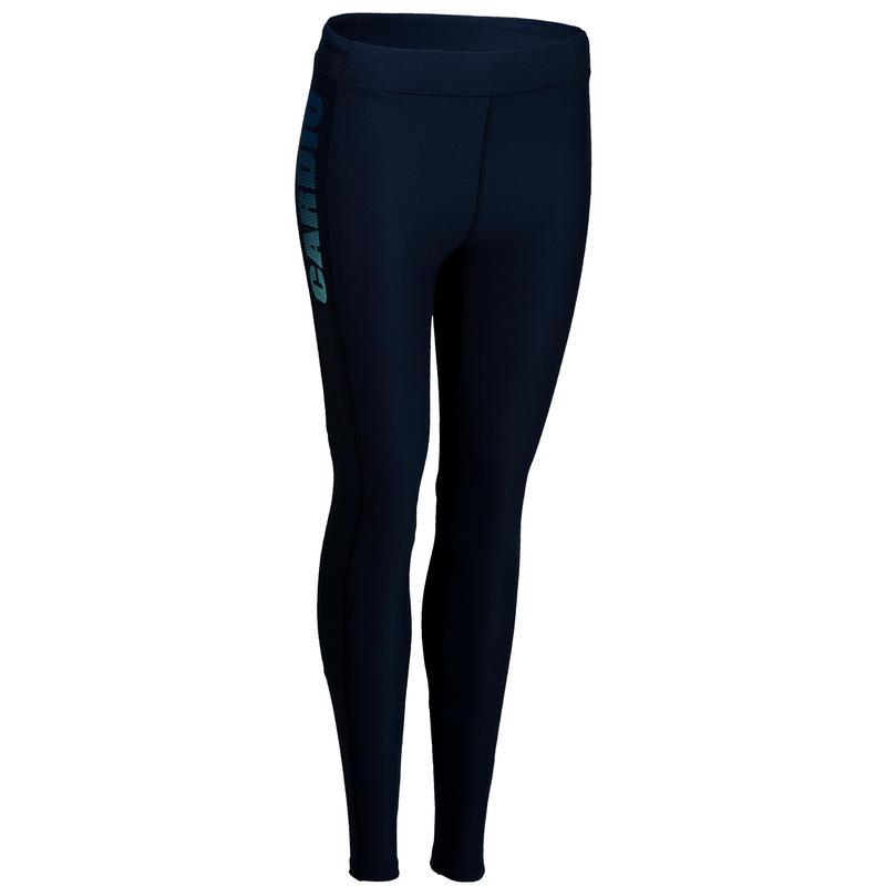 d7ea85543e609 Mallas Leggings Deportivos Cardio Fitness Domyos 120 mujer azul marino