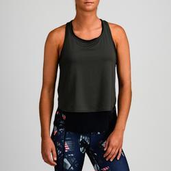 Top 3-in-1 FTA 520 Fitness Cardio Damen marineblau/khaki
