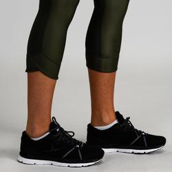 7/8 Leggings 520 Fitness Cardio Damen khaki