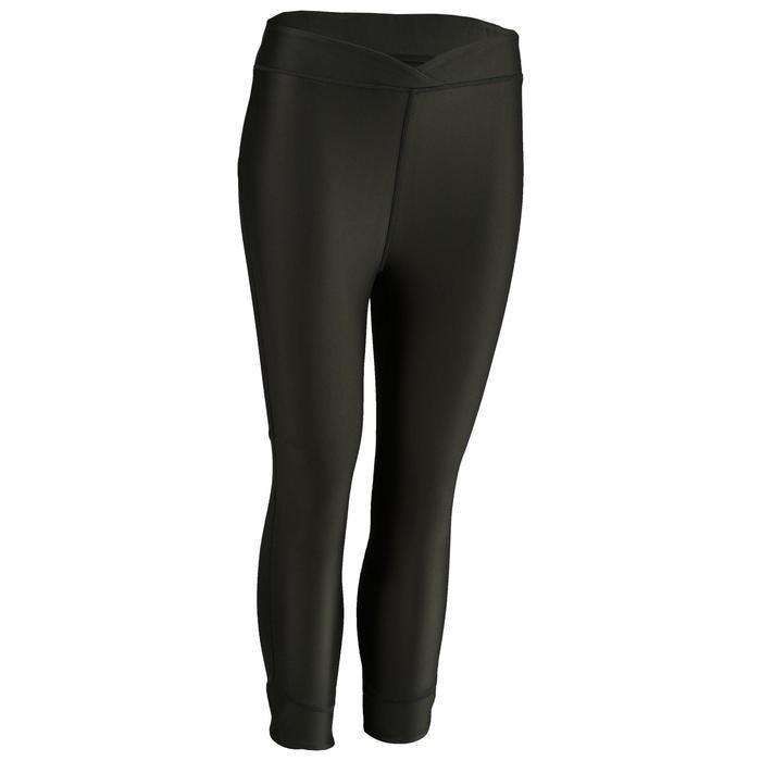 Legging 7/8 cardio fitness femme kaki 520