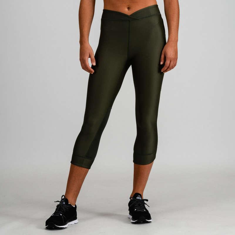 FITNESS CARDIO CONFIRMED WOMAN CLOTHING - 520 FLE 7/8 Leggings DOMYOS