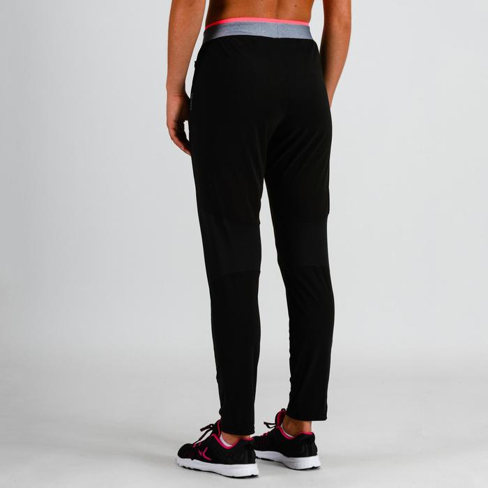 Pantalon cardio fitness femme noir 100