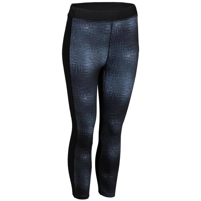 120 Women's Cardio Fitness 7/8 Leggings - Grey Print