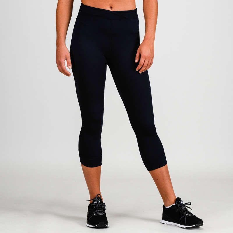 FITNESS CARDIO CONFIRMED WOMAN CLOTHING - 520 FLE 7/8 Leggings DOMYOS
