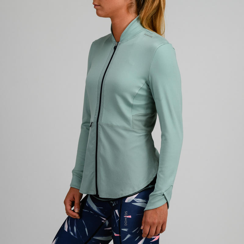 Women's Gym/Cardio Fitness Training Jacket DRY- Green
