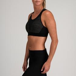 Sport-Bustier 520 Fitness Cardio Damen graumeliert