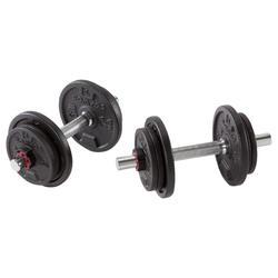 Набор гантелей 20 кг для силовых тренировок