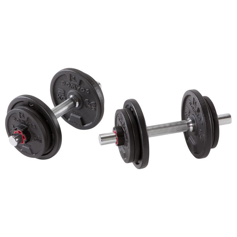 La Formation de poids Haltères Kit de 20 kg - 20 kg