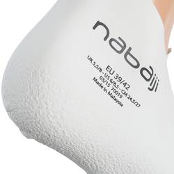 CHAUSSONS DE NATATION EN SILATEX - ADULTE - BLANCS