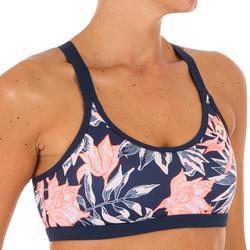 Haut de maillot de bain femme brassière VIVIAN bretelles dos croisées réglables