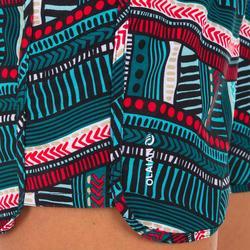 Boardshort surf mujer TINI VILA con cintura elástica y cordón de ajuste