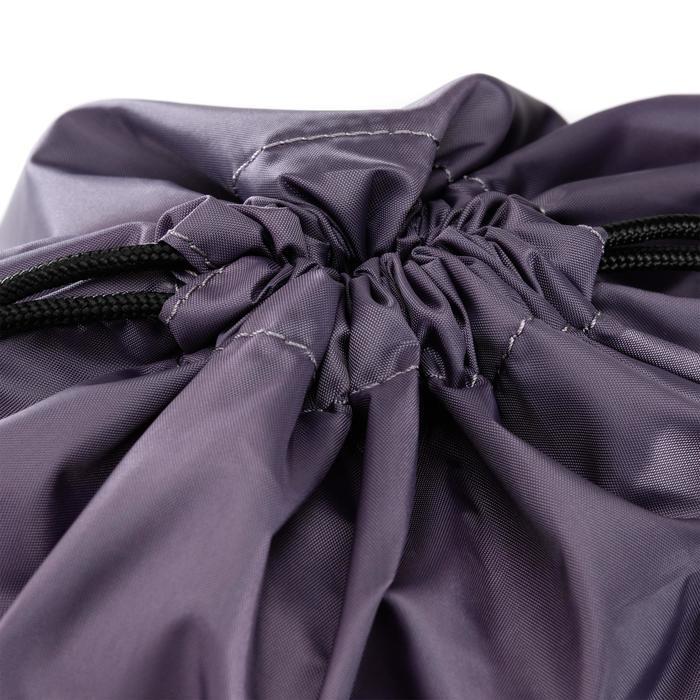 Schuhtasche Fitness faltbar grau/violett