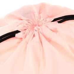 Opvouwbare schoenenzak voor de fitness blauw en roze