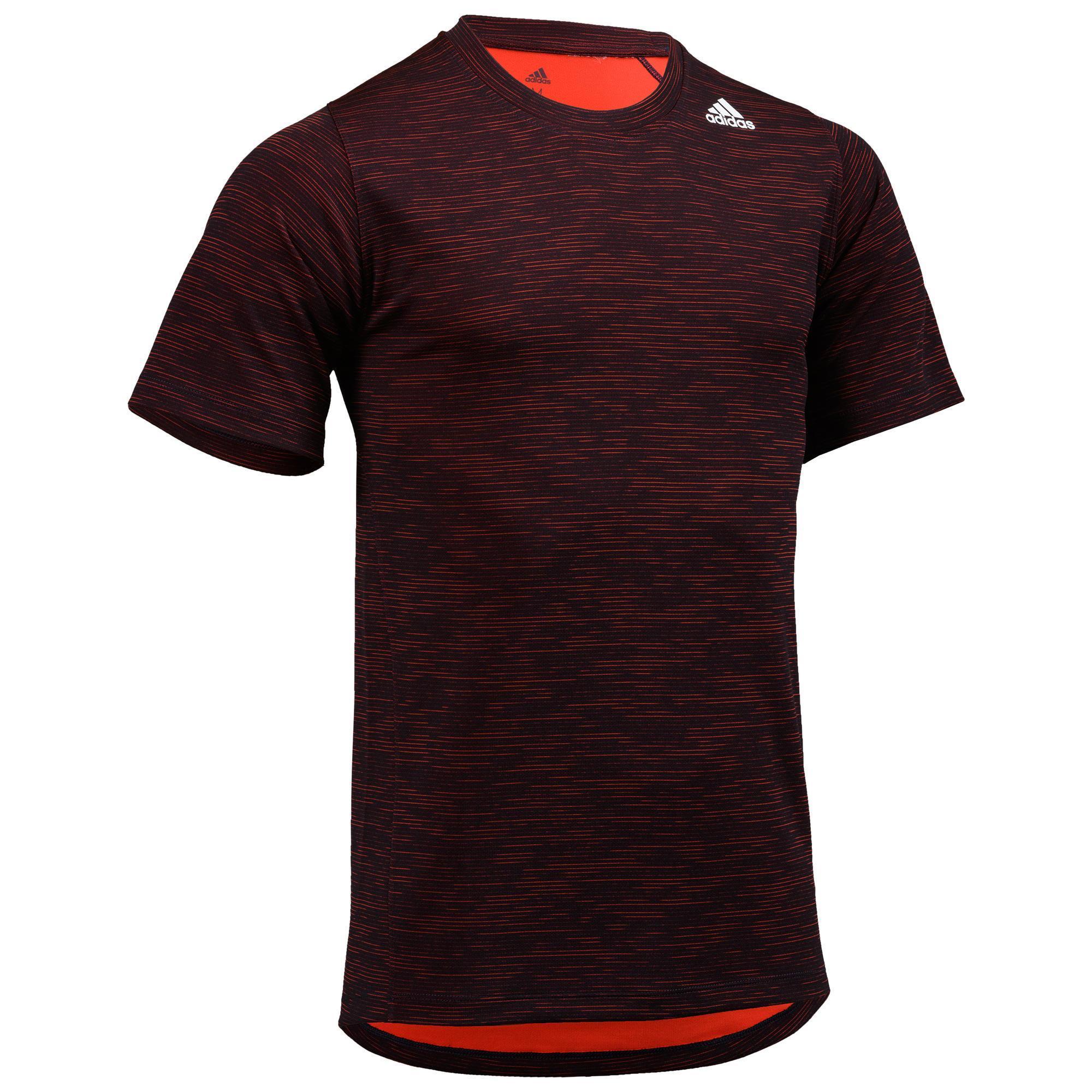 9867aa6ee46 Adidas fitness shirt fitness shirt adidas voor heren, zwart/rood. ben je een
