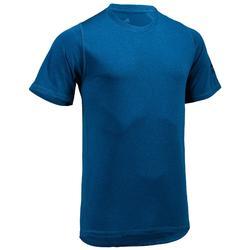 Tee shirt cardio fitness homme ADIDAS bleu E1