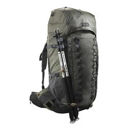 Backpack voor bergtrekking voor heren Trek 900 90+10L kaki