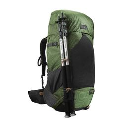 Trek 500 70+10L Men's Mountain Trekking Backpack - Green
