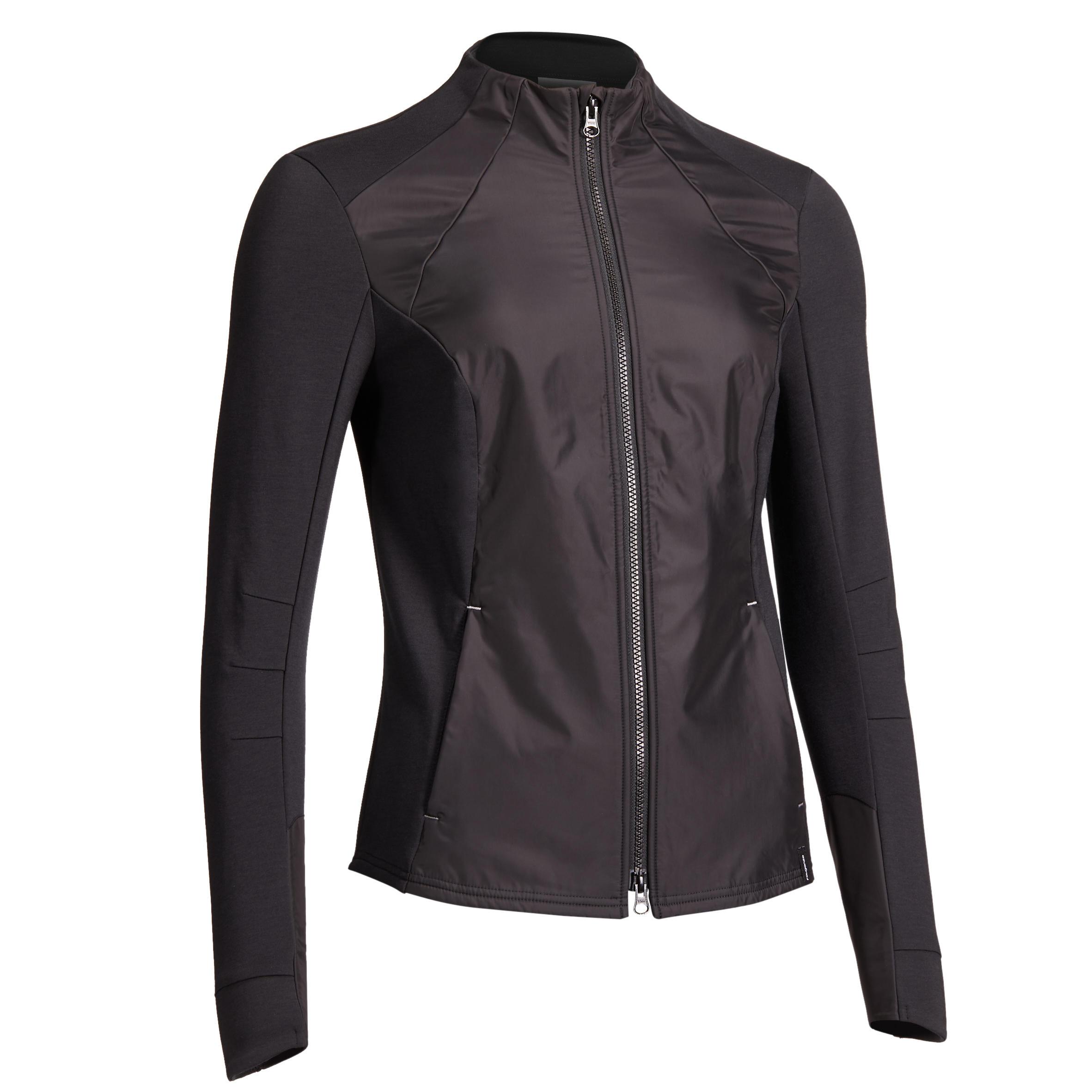 Sweatjacke 500 Damen | Bekleidung > Sweatshirts & -jacken > Sweatjacken | Fouganza