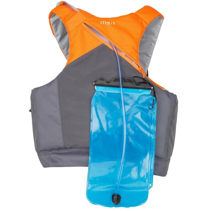 Zwemvest 50N pockets voor kanovaren en kajakken